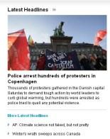 Copenhagen Banner: Scrap Capitalism