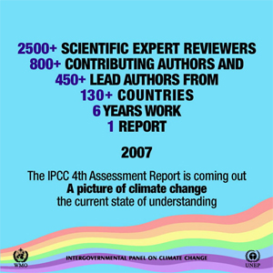 official 2007 IPCC graphic
